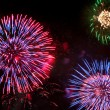 Foto Stock: Fireworks on 4th of July