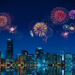 Fireworks in Miami - Foto Stock