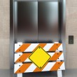 Broken elevator — Stock Photo #6119204