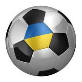 Ukrainian Soccer Ball — Stock Photo