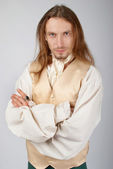 Medieval lord — Stock Photo