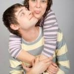 Happy couple hugging — Stock Photo #6373700