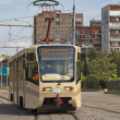 Tram in  Moscow - Stock Photo