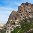 Royalty-Free Stock Photo: Cappadocia valley. Uchisar cave castle.
