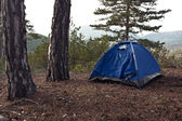 Camping tent. — Stock Photo
