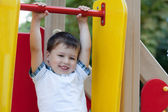 Cute little boy having fun. — Stock Photo