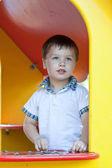 Cute little boy having fun. — Stock Photo