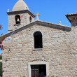 Stock Photo: Country Church In SPantaleo, Sardinia