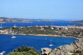 View Of Maddalena Archipelago From Palau — Stock Photo