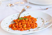 Italian Pasta - Gnocchi Alla Sorrentina — Stock Photo