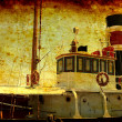 Vintage Tugboat — Stock Photo #5959341