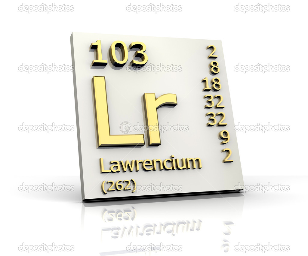 lawrencium periodic table - photo #5