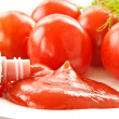 Royalty-Free Stock Photo: Fresh tomato ketchup