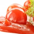 Fresh tomato ketchup — Stock Photo