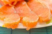 Salted salmon — Stock Photo