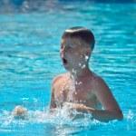 Boy swimming — Stock Photo #5806150