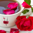 Rose Tea — Stock Photo