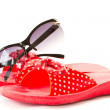 Flip-flops for beach — Stock Photo #5851573