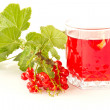 Compote of red currants — Stock Photo #5906650