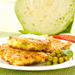 Cabbage pancakes — Stock Photo #6091864