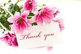 "«спасибо"" — Стоковое фото"