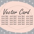 Royalty-Free Stock Vector Image: Vector greeting card