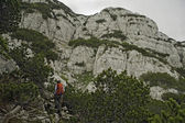 Trekking in Bosnia and Herzegovina — Stock Photo