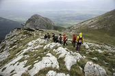 Trekking in Bosnia and Herzegovina — Stock Photo