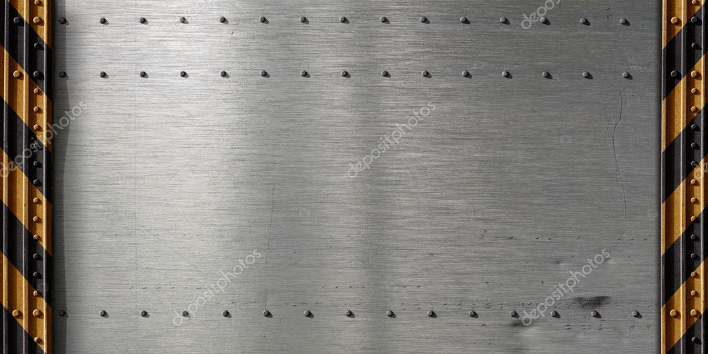 Metal template background — Stock Photo #6046668