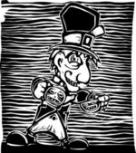 Mad Hatter — Stock Vector