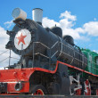 Old locomotive - Stock Photo