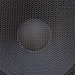 Stock Photo: Subwoofer grille