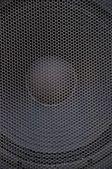 Kratka głośnika niskotonowego — Zdjęcie stockowe