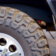 Off-road wheel - Stock Photo