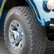 Off-road wheel — Stock Photo