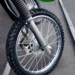 Part of a sports bike — Stock Photo #6289196