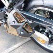Part of a sports bike — Stock Photo #6289231