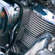 Part of a sports bike — Stock Photo #6289437