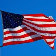 American Flag Flying — Stock Photo #5718633