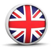 İngiliz bayrağı — Stok fotoğraf