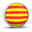 Foto de Stock  : Cataloniflag