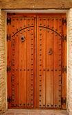 Porta de madeira — Foto Stock