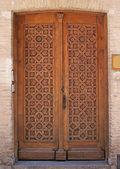 Houten deur 5 — Stockfoto