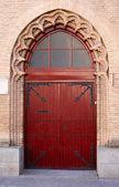 Houten deur 6 — Stockfoto