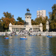 Monument in Madrid - Stock Photo
