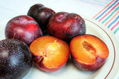 Red plum — Stock Photo