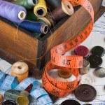 dikiş malzemeleri — Stok fotoğraf