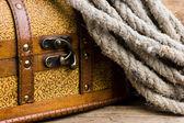 Pirátská truhla s pokladem — Stock fotografie