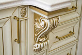 Decorative elements of furniture — 图库照片