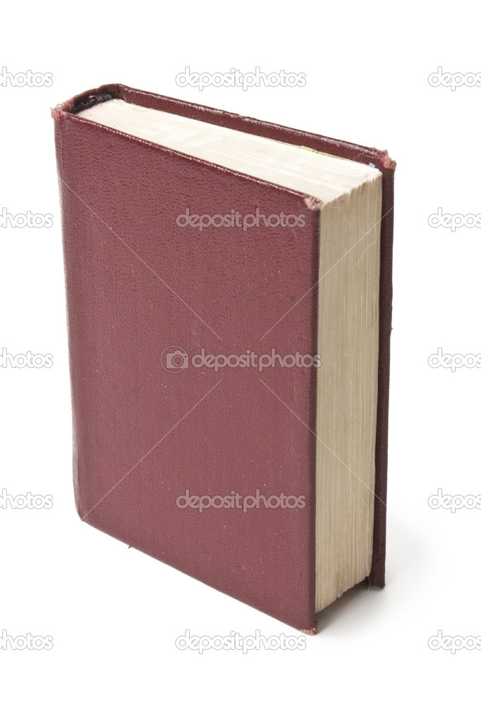 Book isolated on white background — Stock Photo #5658426